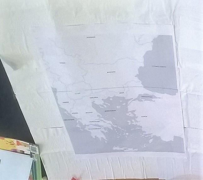χειροποίητος διαδραστικός χάρτης