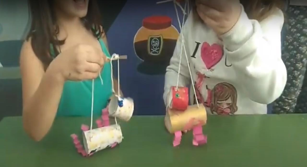 κατασκευή μαριονέτας