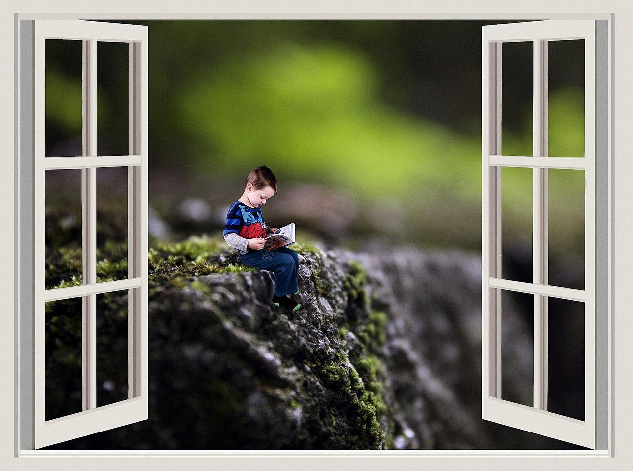 """Τεχνική Δημιουργικής Γραφής """"Ανοιχτό παράθυρο"""""""