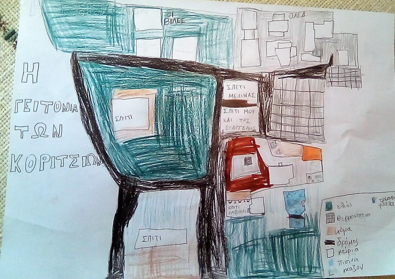 Δημιουργία χάρτη γειτονιάς